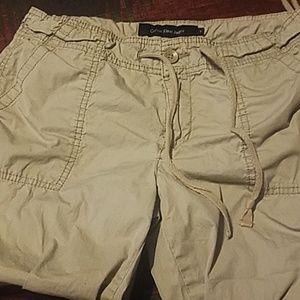 Calvin Klein Jeans capri khakis size 4